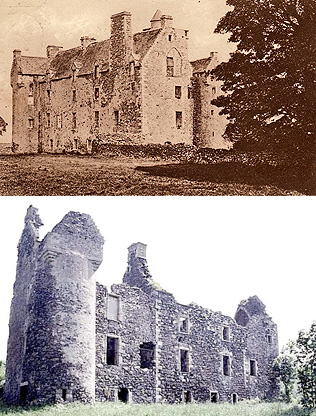 Auchans Castle (Ayr)