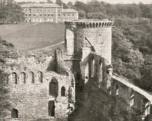 Bothwell Castle old photo