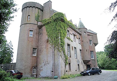 Colliston Castle (Angus) 2