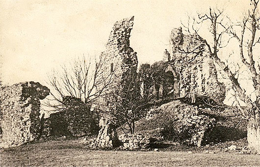 Craigie Castle in 1904