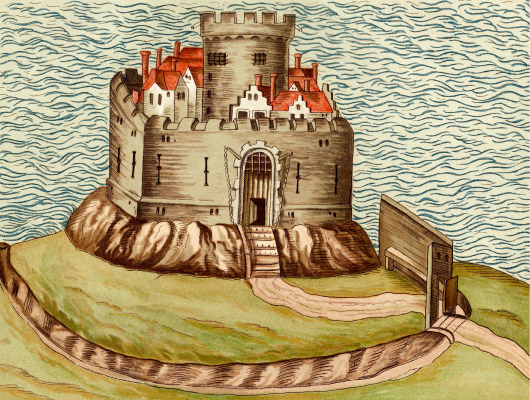 Cruggleton Castle old sketch