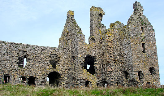 Dunskey Castle - Wigtown
