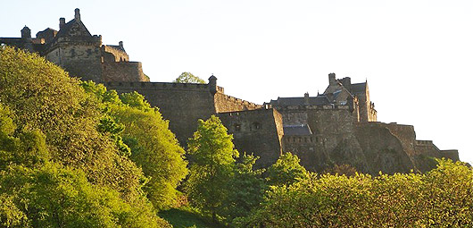 Edinburgh Castle - top tourist attraction