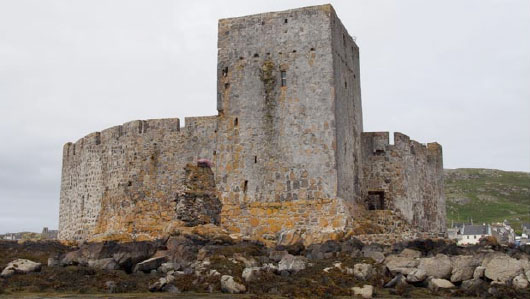 Kisimul Castle was built in the 1400s