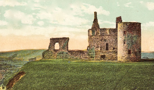 Newark Castle Fife in 1904