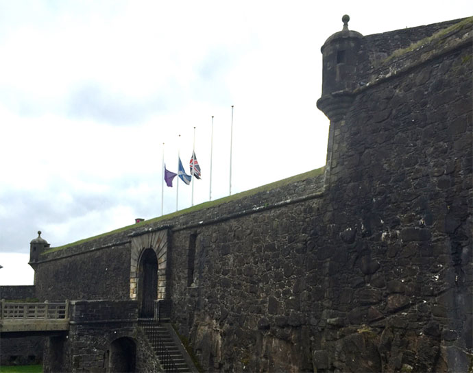 stirling castle 1710