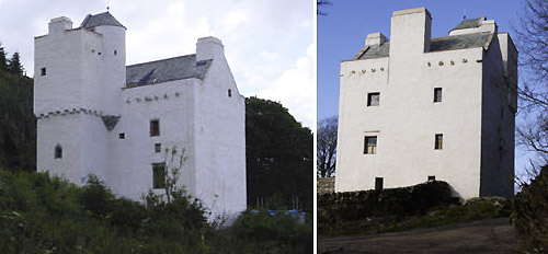 Barholm Castle restored