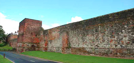 Carlisle Castle wall