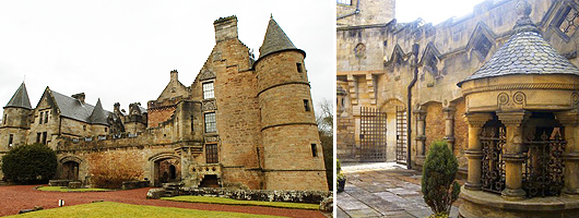 Dalzell Castle - Motherwell