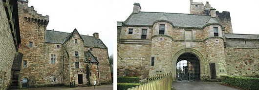 Dean Castle - palace block & gatehouse
