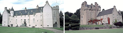 Drum Castle & Crathes Castle