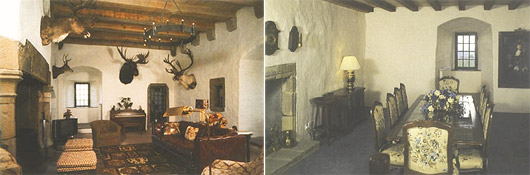 Faside Castle interior
