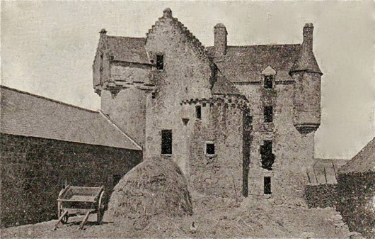 Fiddes Castle (old postcard)