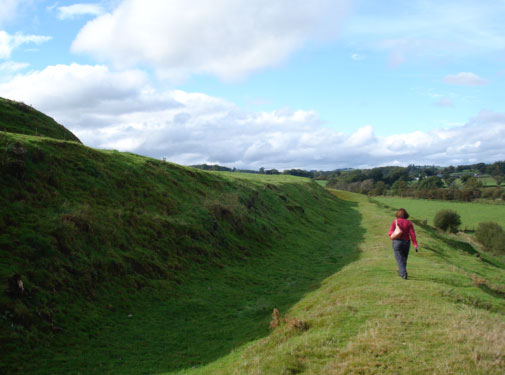 Motte of Urr - Galloway