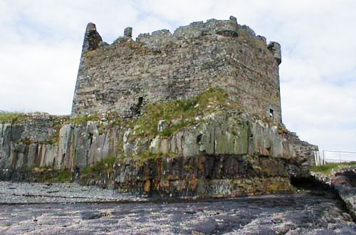 Mingary Castle From Sea Lochaber