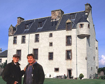 Nigel & Peter at Ballencrieff Castle
