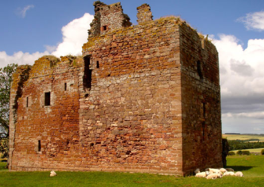 Cessford Castle in 2013