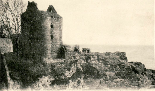 Ravenscraig Castle as it looked in 1902
