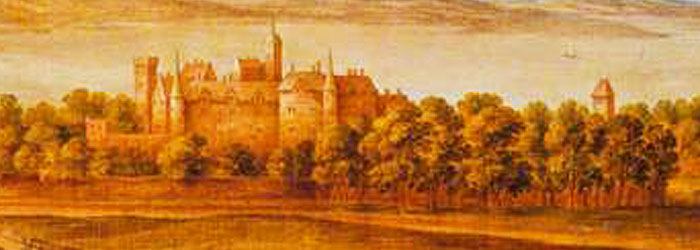 Seton Palace - Demolished In 1790