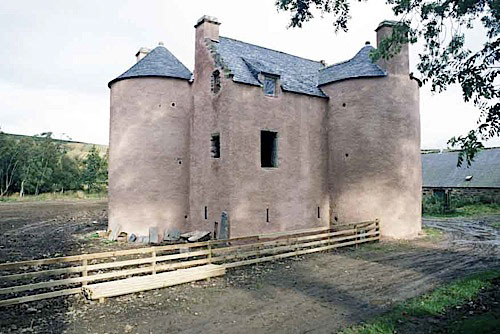 Terpersie Castle - during restoration