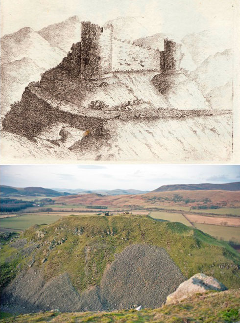Tinnis Castle (Peebles)