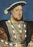 Hans Holbein, the Younger Around 1497-1543 - Portrait of Henry VIII of England - Google Art Project